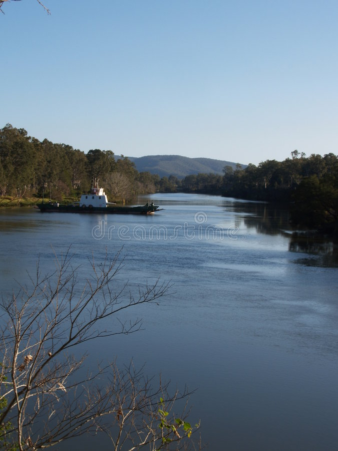 Moggill Ferry stock photo