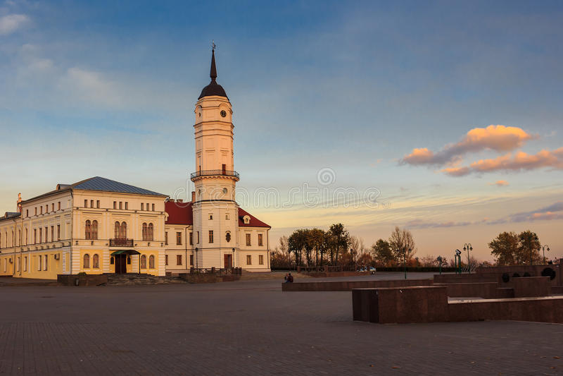 Mogilev urząd miasta fotografia royalty free