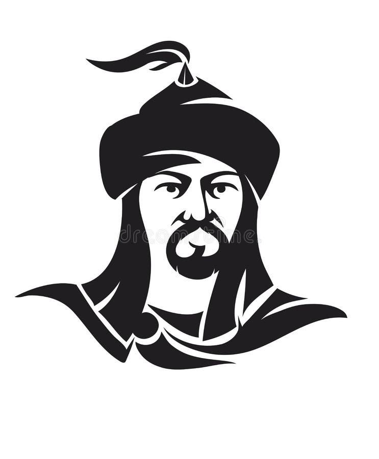 Free Mogolian Man Character Stock Photography - 44254062