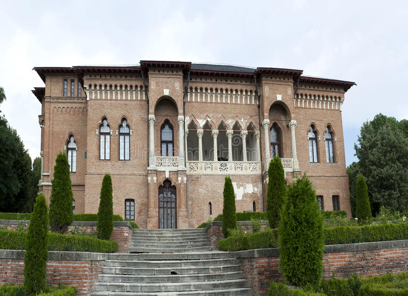 Mogosoaia宫殿 库存照片