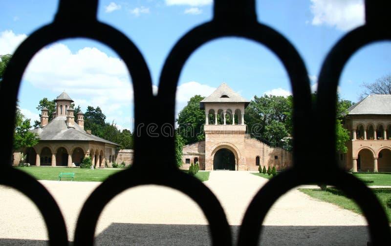 mogosoaia宫殿 免版税库存图片