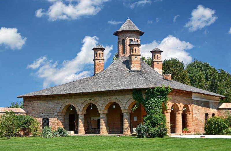 Mogosoaia slott arkivbild