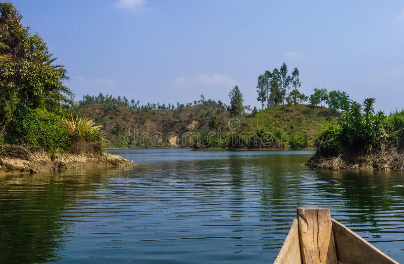 mohamaya lake-part2 fotografie stock