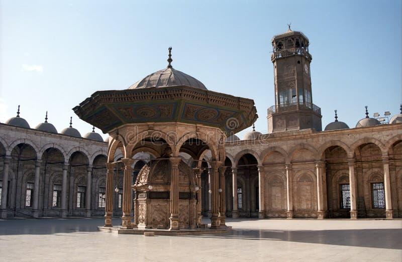 Mohamed Ali Mosque, Cairo, Egitto fotografia stock libera da diritti