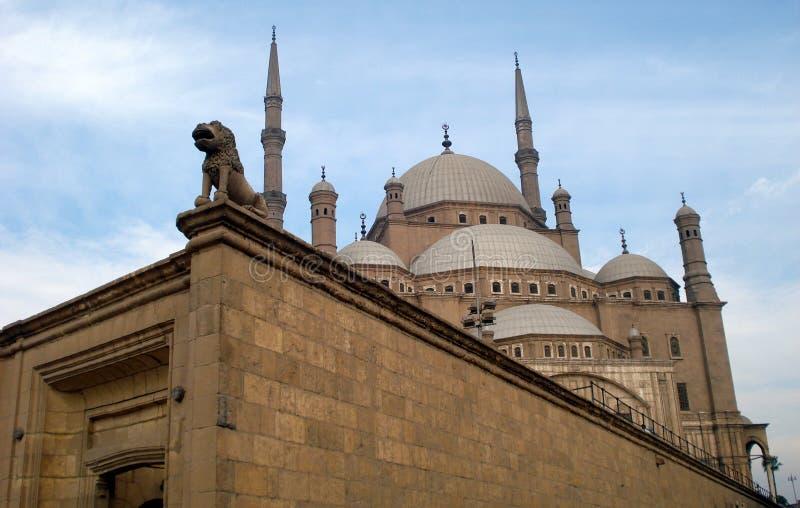 Mohamed Ali Mosque, o Cairo, Egipto fotos de stock royalty free