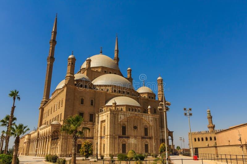 Mohamed Ali Mosque Saladin Citadel av Kairo, Egypten arkivfoto