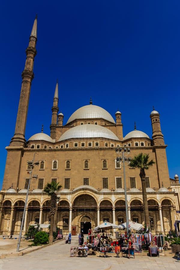 Mohamed Ali Mosque, Saladin Citadel do Cairo, Egito imagens de stock royalty free