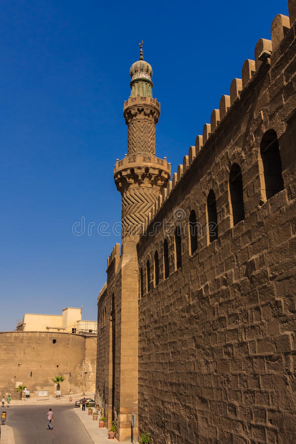 Mohamed Ali Mosque, Saladin Citadel do Cairo, Egito fotografia de stock royalty free