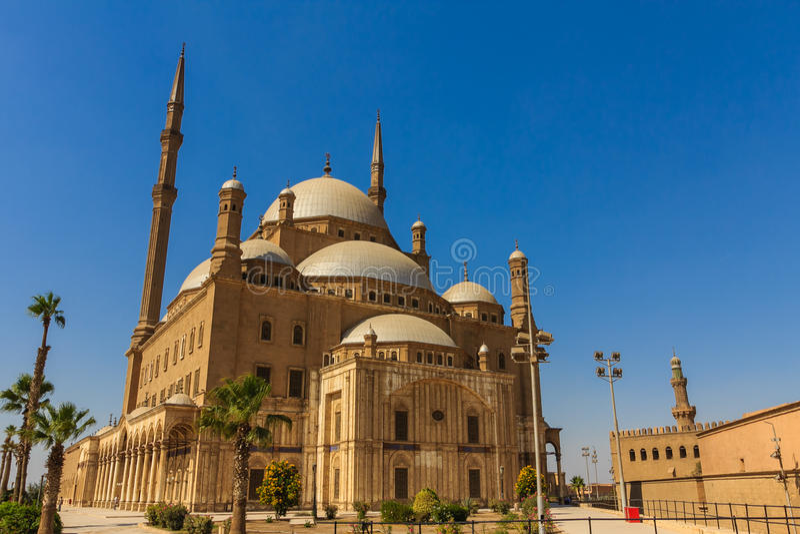 Mohamed Ali Mosque, Saladin Citadel du Caire, Egypte photo stock