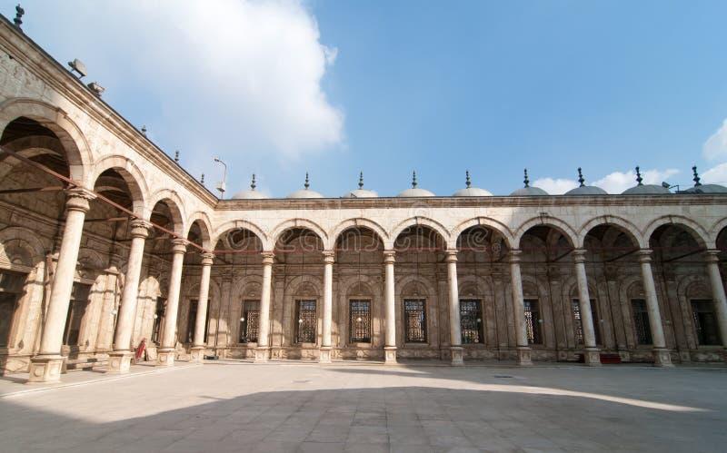 Mohamed Ali Mosque, Saladin Citadel - Kairo, Ägypten stockfotos