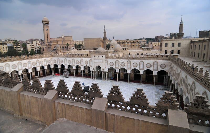 Mohamed Ali Mosque, Saladin Citadel - Kairo, Ägypten lizenzfreies stockfoto