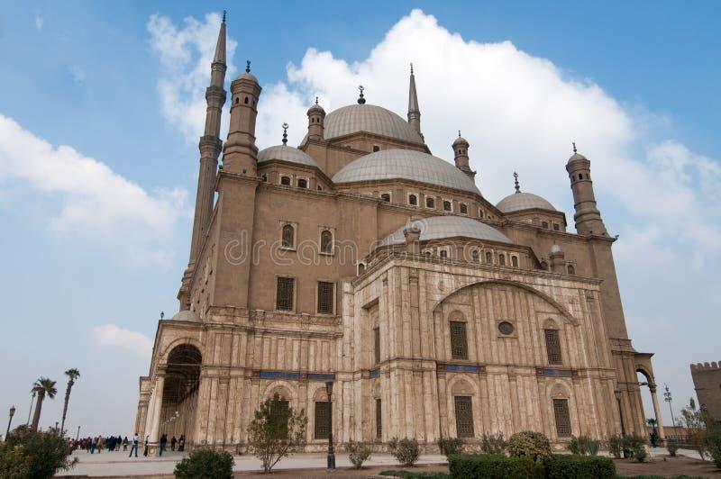 Mohamed Ali Mosque, Saladin Citadel - le Caire, Egypte images libres de droits