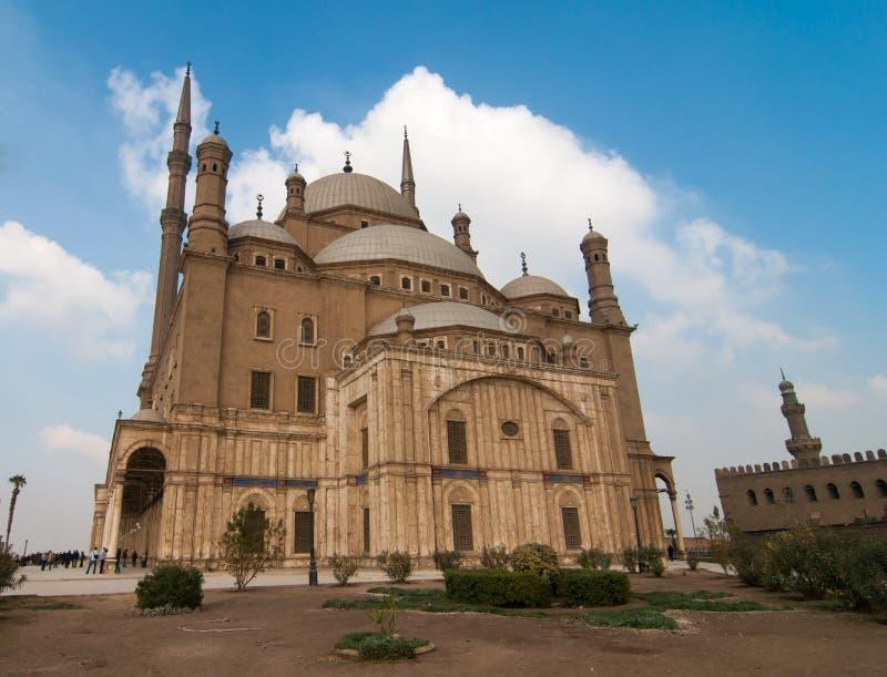 Mohamed Ali Mosque, Saladin Citadel - o Cairo, Egito imagens de stock