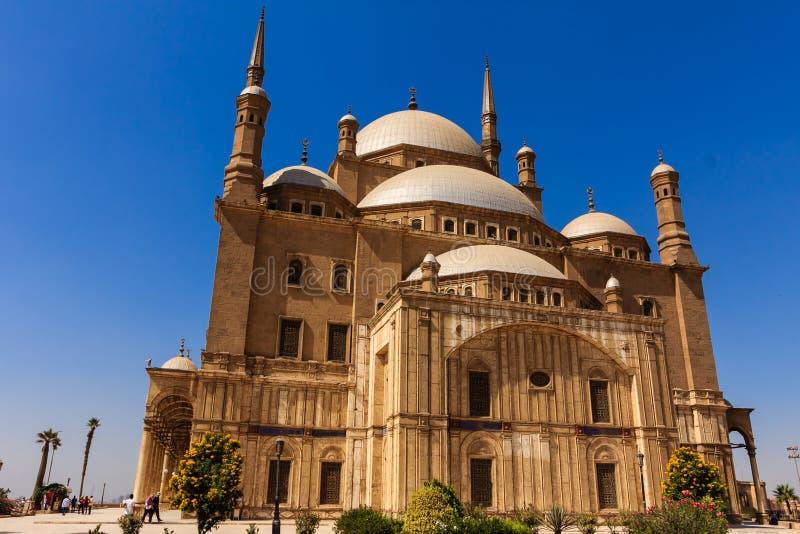 Mohamed Ali Mosque, Saladin Citadel von Kairo, Ägypten stockbild