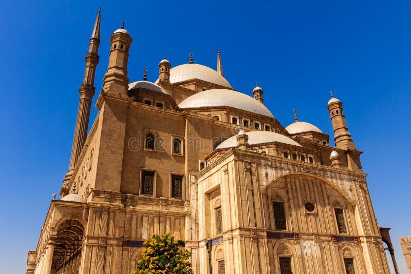 Mohamed Ali Mosque, Saladin Citadel von Kairo, Ägypten stockfotografie