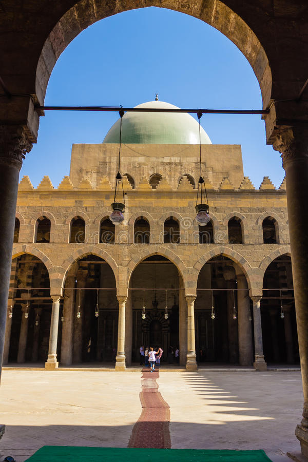Mohamed Ali Mosque, Saladin Citadel von Kairo, Ägypten stockbilder