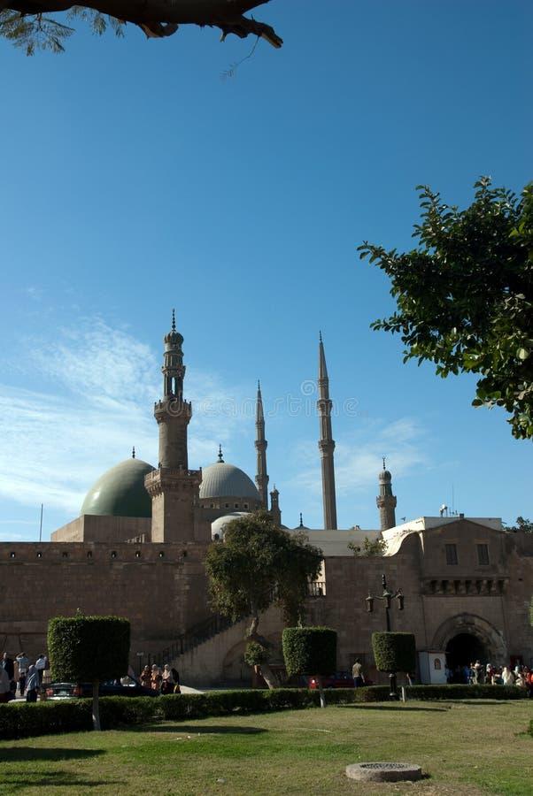 Mohamed Ali Mosque von Kairo Ägypten stockbild
