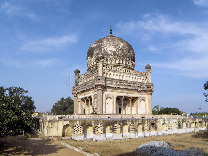 Mohamed Quli Qutb Shah Mausoleum (153) royalty free stock images