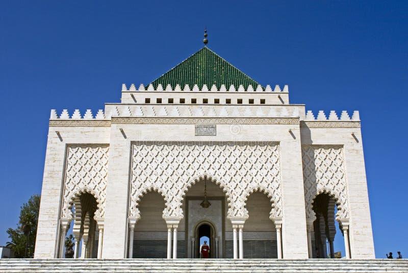 Mohamed v mauzoleum fotografia stock