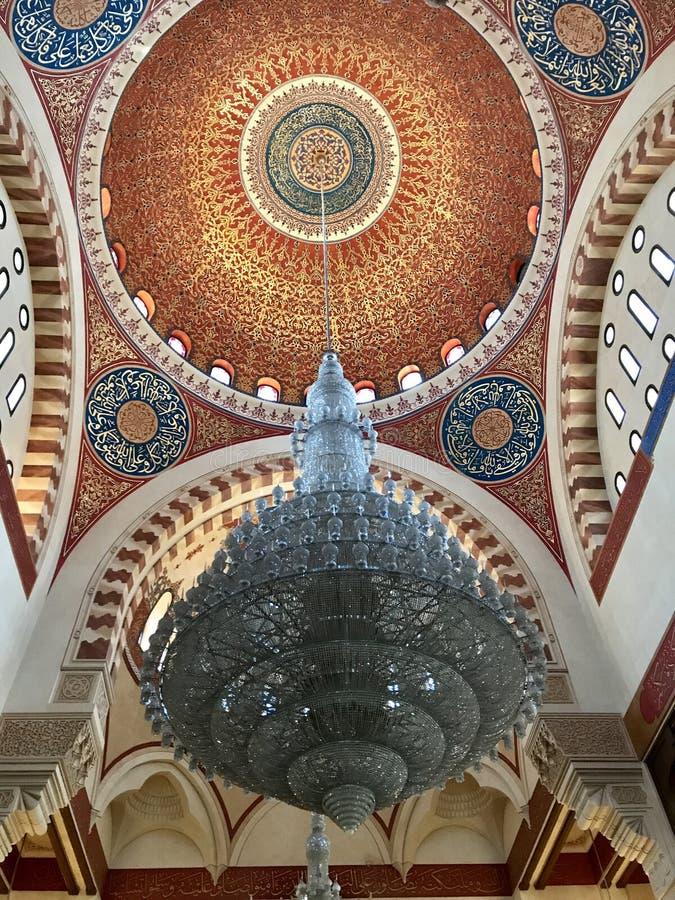 Mohammad Al-Amin Mosque, Beirut, Líbano imagenes de archivo