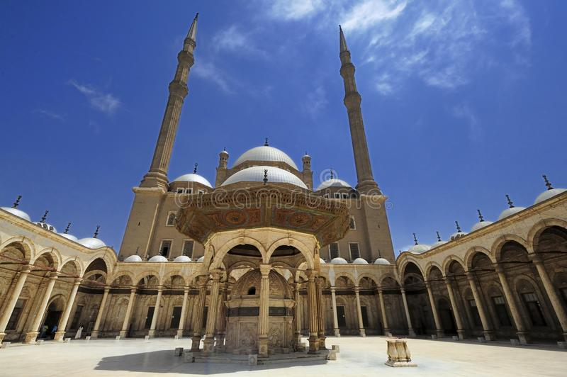 Mohammed Ali Mosque images stock
