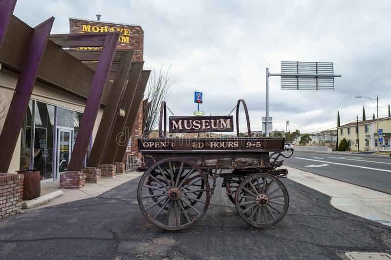 The Mohave Museum of History and Arts in Kingman. Arizona, America, 8th, March, 2018. The Mohave Museum of History and Arts in Kingman, Arizona is a private, not stock photos