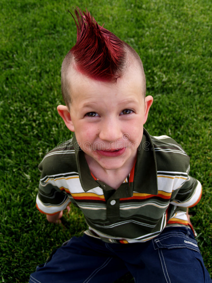 Free Mohawk Boy Royalty Free Stock Images - 796279