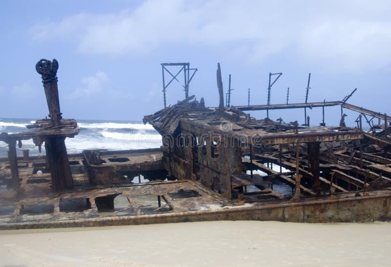 Moheno Wreck stock photos