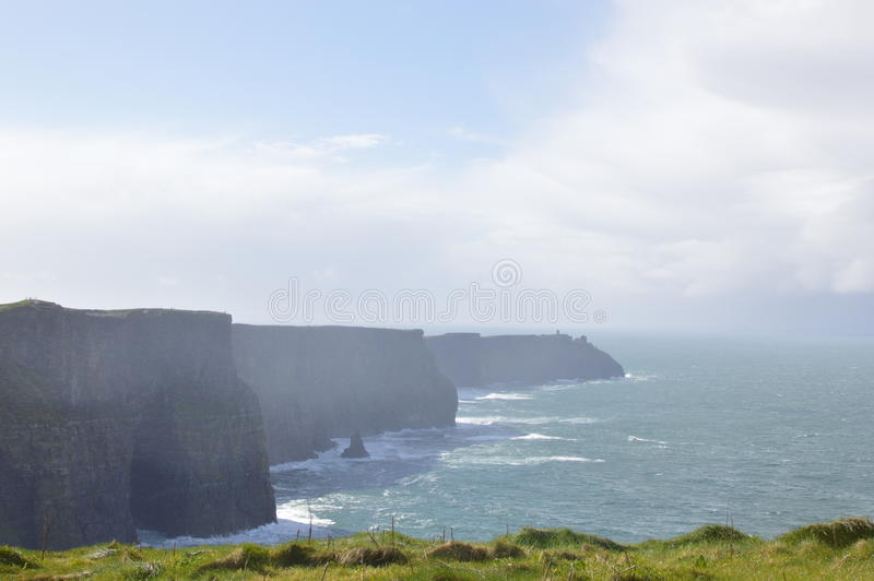 moher de l'Irlande de falaises photographie stock libre de droits