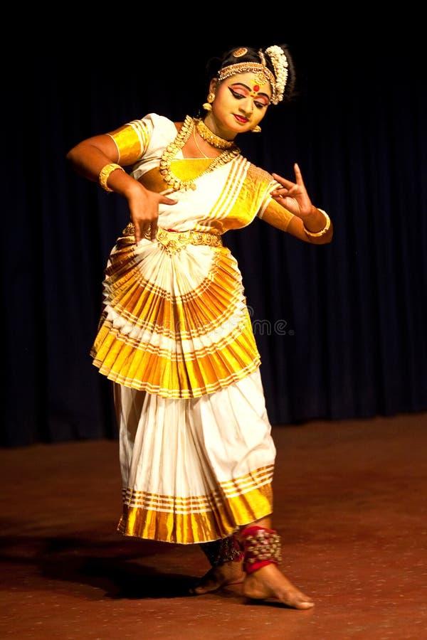 Mohiniattam taniec, India zdjęcie stock
