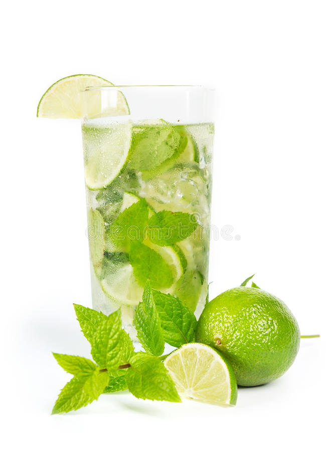 mohito mojito drink with lime and mint stock image image of mohito food 36227889. Black Bedroom Furniture Sets. Home Design Ideas