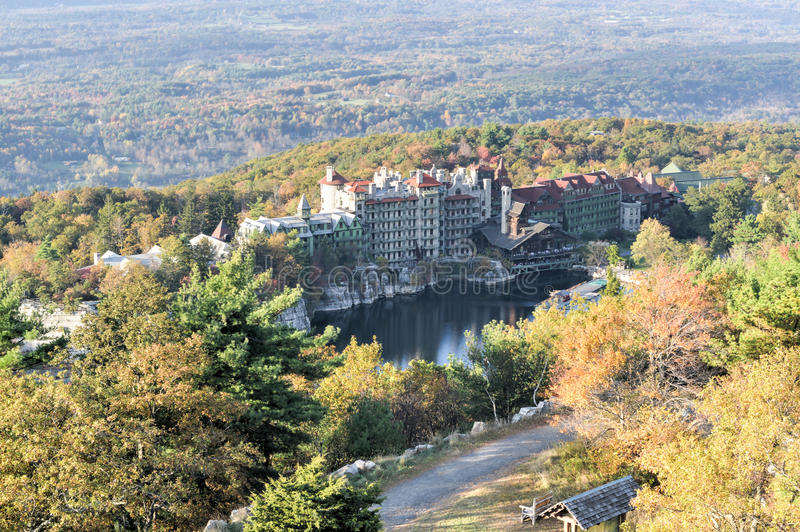 Mohonk Mountain House Resort - New York royalty free stock photo