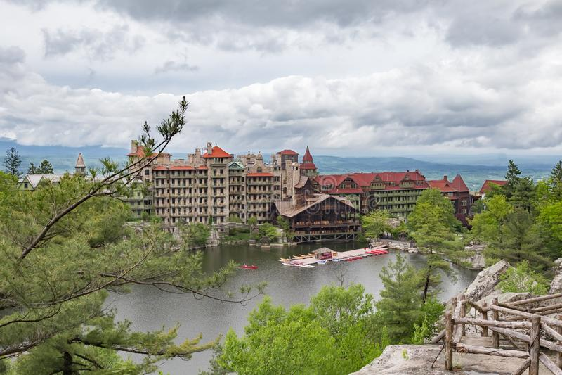Mohonk Mountain House stock images