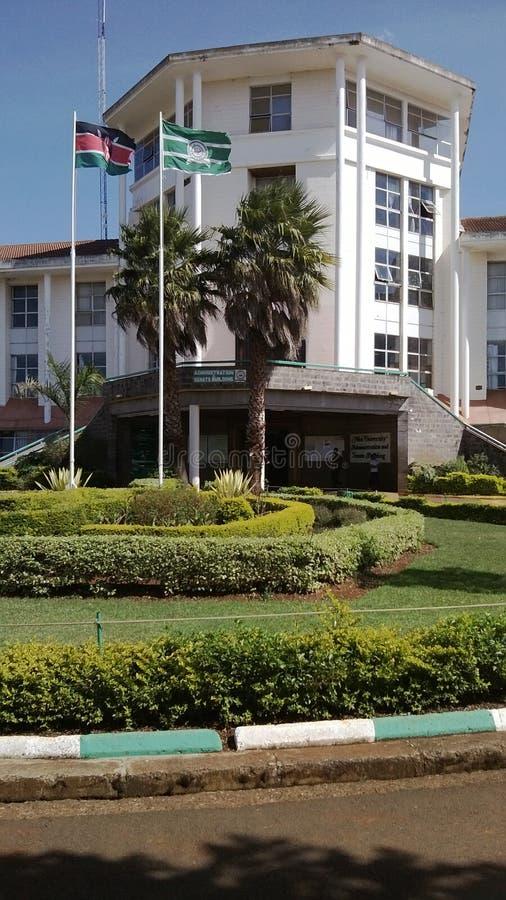 Moi universitair Kenia stock afbeelding