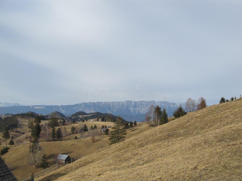 Moieciu DE Jos, landschap stock foto