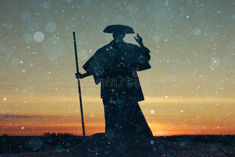 Moine oriental photo libre de droits