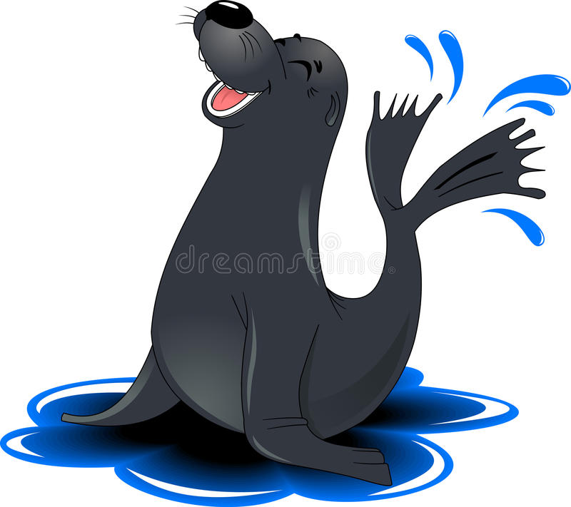 Moine Seal illustration libre de droits