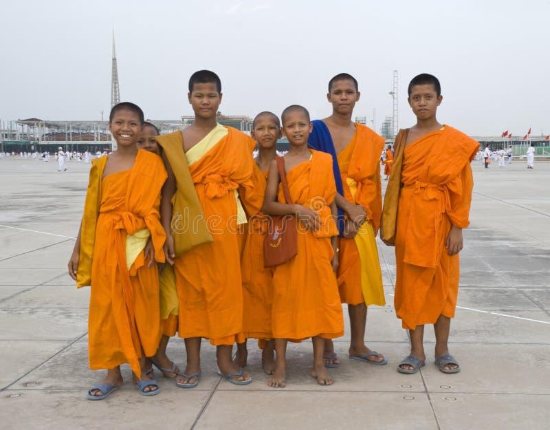 moines jeunes photographie stock