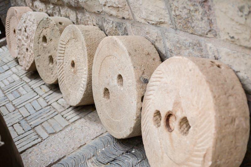 Moinho da pedra de China imagem de stock