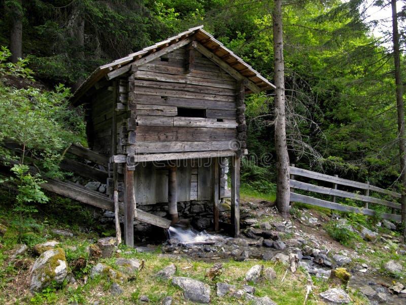 Moinho de água Gartl puro Wasserfall em Áustria imagem de stock royalty free