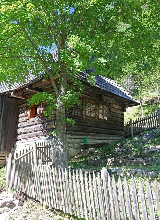 Moinho de água no dolina de Kvacianska - vale na região Liptov, Slova fotos de stock royalty free