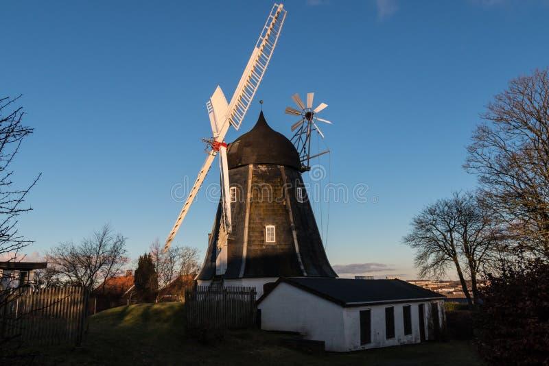 Moinho de Mariendals, Alborgue Dinamarca imagens de stock
