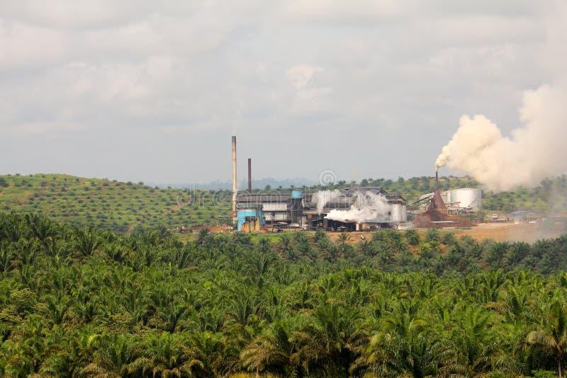 Moinho de petróleo da palma imagem de stock royalty free