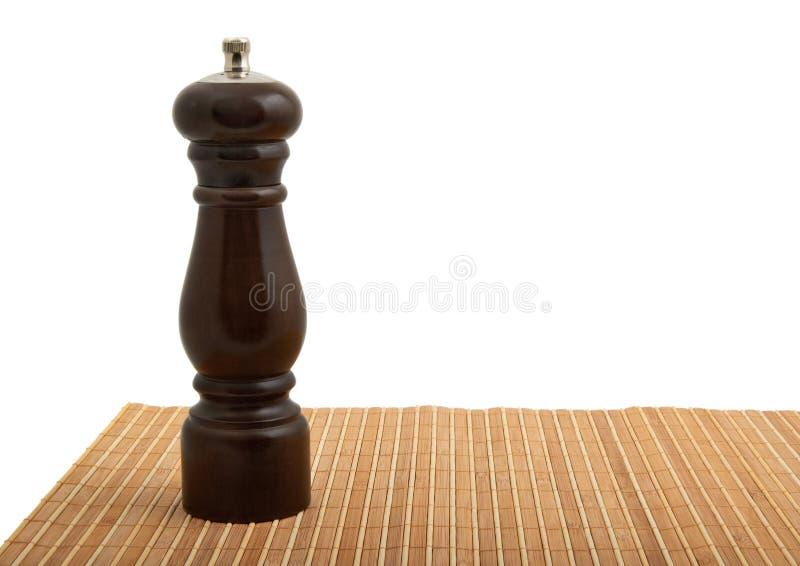 Moinho de pimenta fotografia de stock