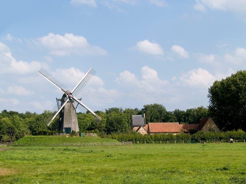 Moinho de vento. fotos de stock