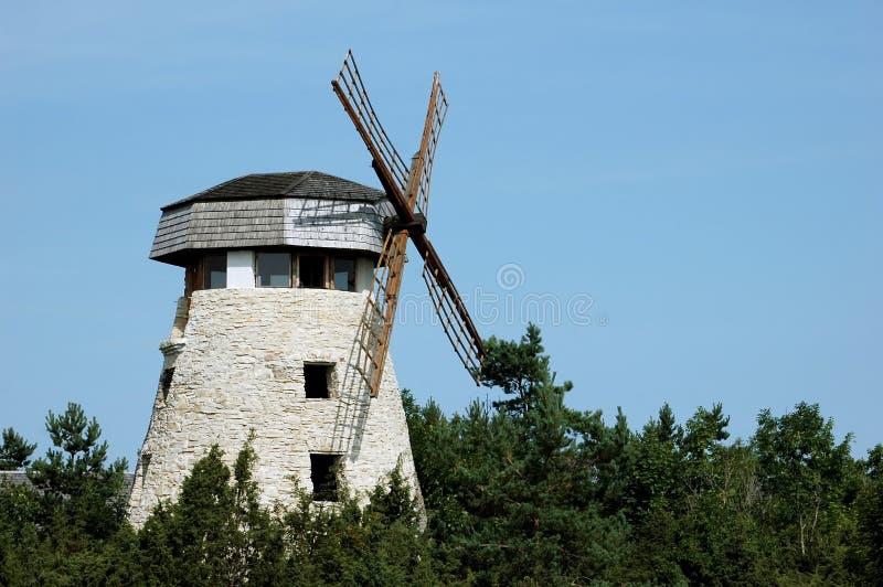 Download Moinho de vento imagem de stock. Imagem de girar, scenic - 16874071