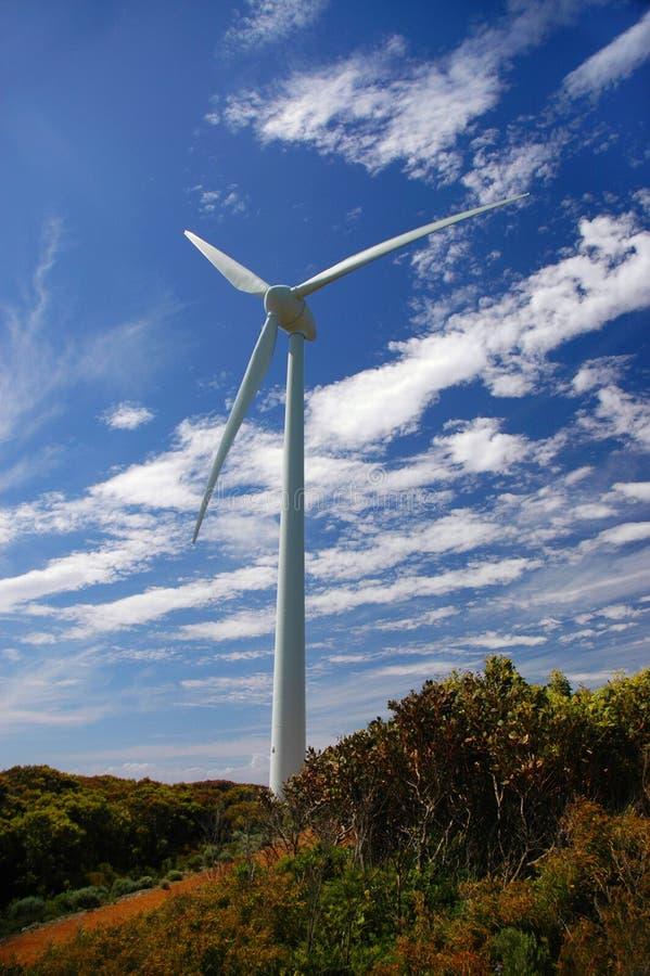 Moinho de vento 2 fotos de stock
