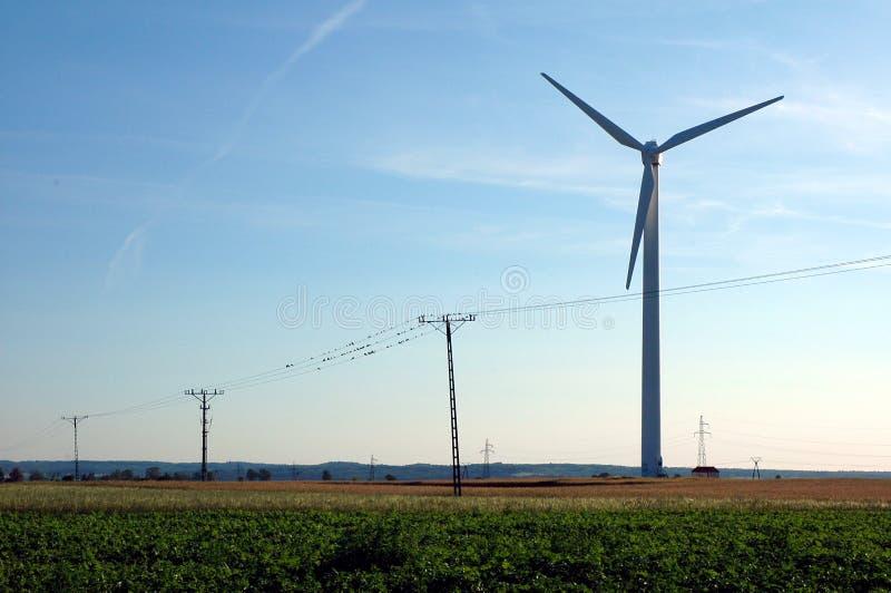 Download Moinho de vento imagem de stock. Imagem de fazenda, vento - 59723