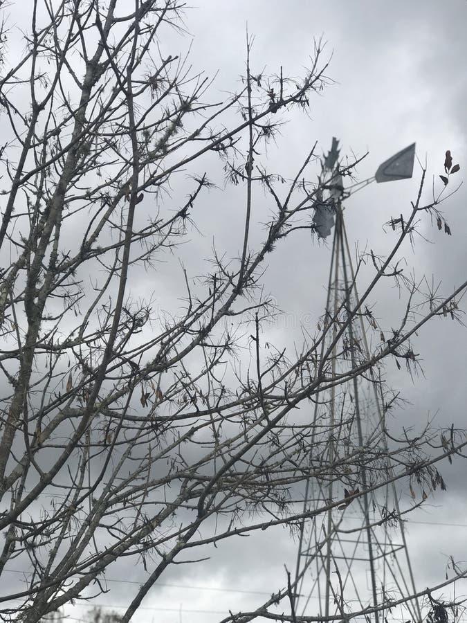Moinho de vento Bokea imagens de stock