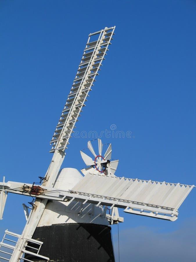 Moinho de vento, Cambridgeshire fotos de stock royalty free